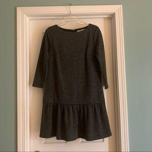 Loft dropped waist knit dress. EUC
